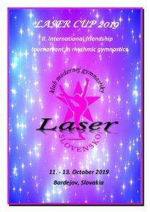Plakat Laser CUP 2019