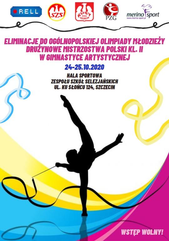 plakat DMP KL.2 szczecin 2020