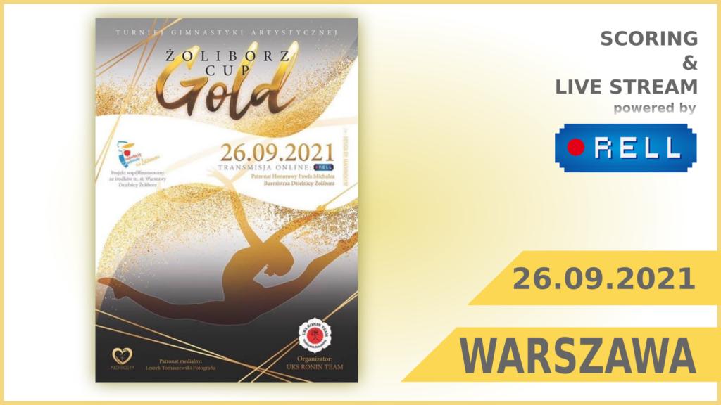 ŻOLIBORZ GOLD CUP 2021 - transmisja na żywo on-line z zawodów
