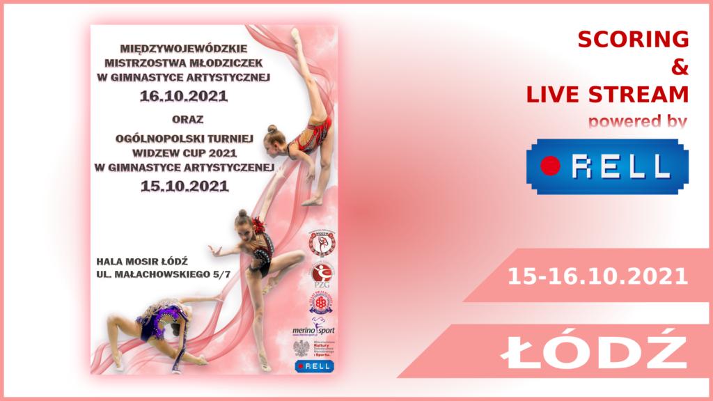 widzew cup turniej online z zawodów gimnastyki artystycznej